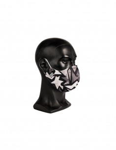 Máscara facial lavable....