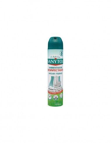 Spray desinfectante para hogar y tejidos