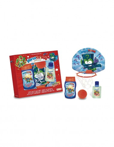 Edt 50 ml + gel/champú 200 ml + cesta baloncesto y pelota esponja-Children&39s perfumes