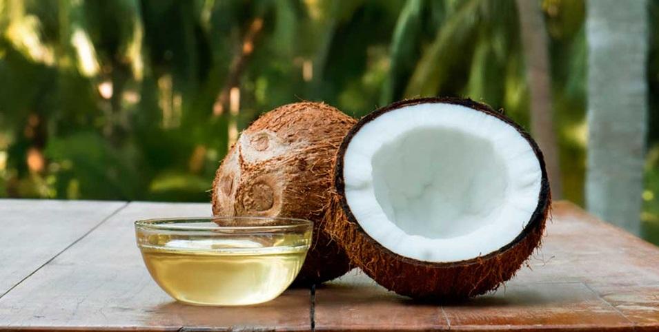 aceite corporal de coco
